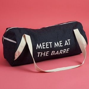 Meet me at the Barre gym duffle bag Private Party